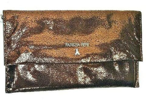 Patrizia Pepe- Borsa Bag Pochette Con Tracolla Bronzo DV647/AZ40 B148