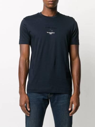 Emporio Armani - T-Shirt Uomo Con Logo Gommato 6H1T6G1JSHZ