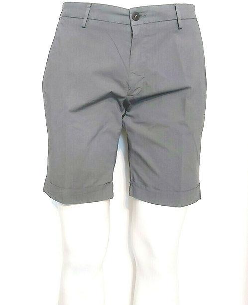 Michael Coal- Pantalone Bermuda Uomo Tasca America Grigio