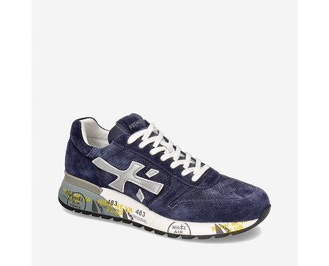 Premiata- Sneakers Scarpe Uomo Blu Mick 3830