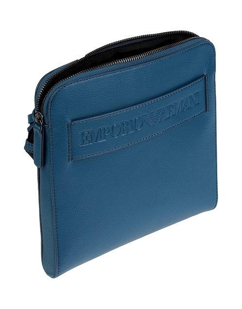Emporio Armani - Borsello A Tracolla Messenger Bag  Uomo Y4M218YSL5J  Light Blu