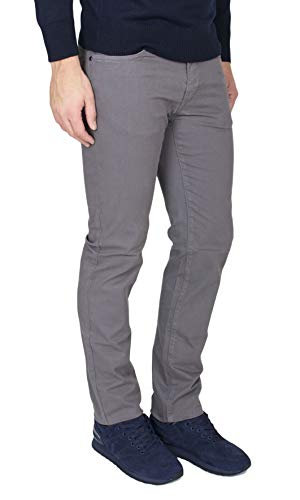 Trussardi Jeans - Pantalone Uomo Trussardi Mod. 380 Icon Hight Waist Vita Alta
