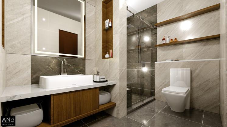 1 Bed Toilet