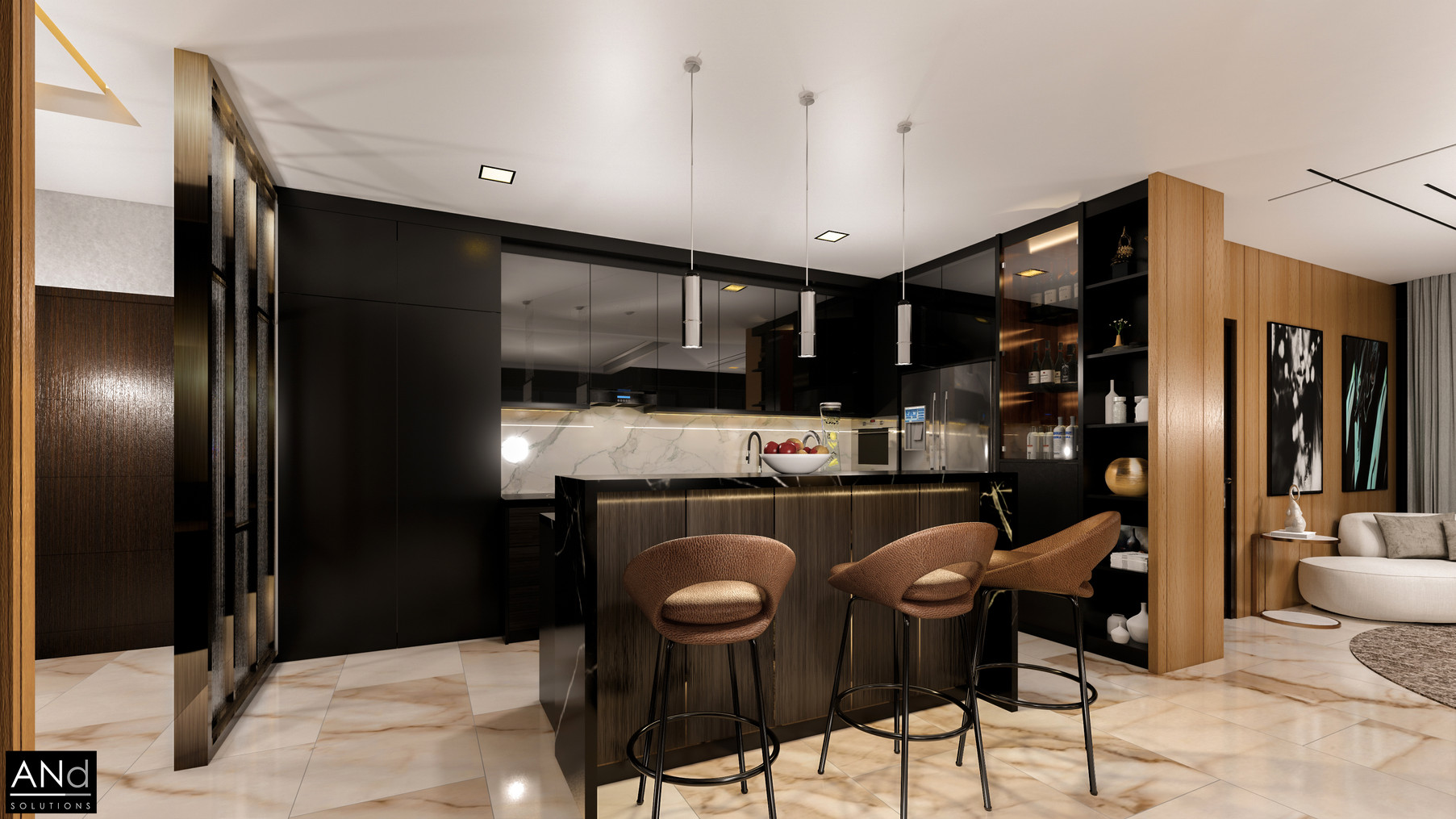 Pent House Kitchen