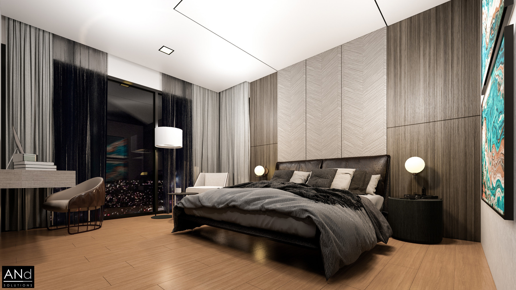 Pent House Bed