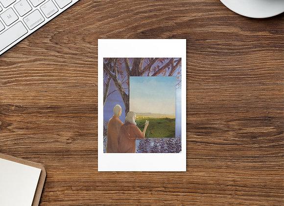 """""""Something Better"""" Postcard"""