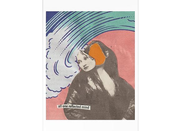 """Reflected/Detracted"" Postcards (7 pcs)"