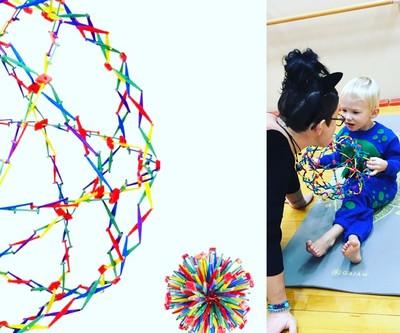 Kids Yoga Resource #1 : The Hoberman Sphere