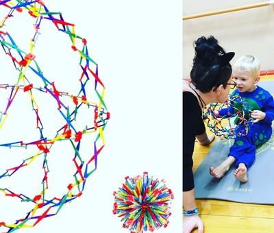 Kids Yoga Resource #1 : The Hoberman Sphere