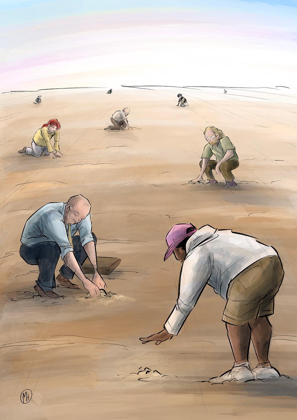 Illustrasjon: Marius Henriksen