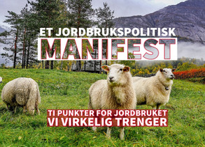 Et jordbrukspolitisk manifest