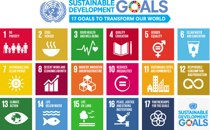 Figure 1.1: The 17 Sustainable Development Goals