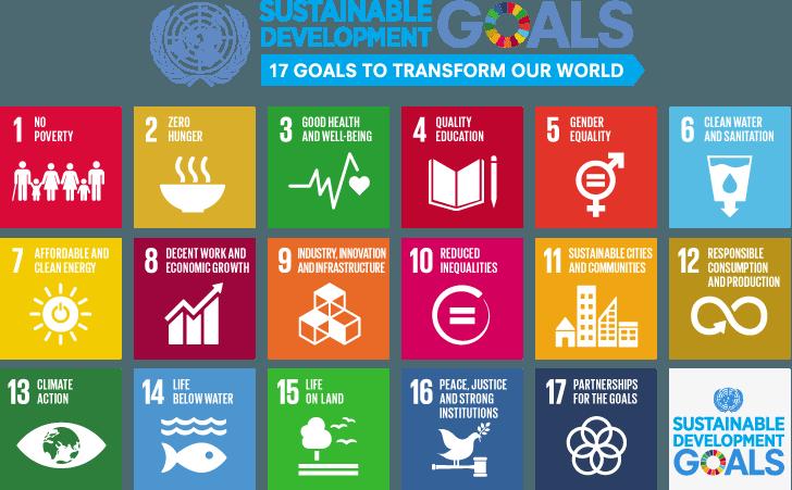 Figure 1.1: The 17 Sustainable Development Goals