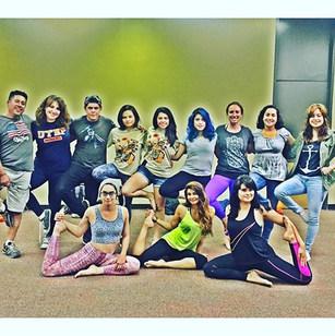 Midnight Yoga #elpasoyoga #yoga