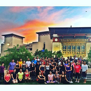 Another amazing class!! Sunset Yoga every Tuesday at 7pm in Centennial Plaza. The more the merrier.jpg