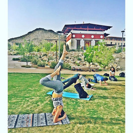 If at first you don't succeed try over and over until you can do it standing on you head #elpasoyoga #elpaso #utep #daretodreamyoga