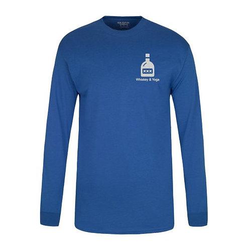 Men's Long Sleeve Whiskey T-Shirt