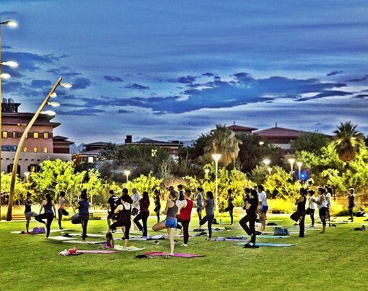 Join our yoga community! Every Tuesday at 6_30pm! #daretodreamyoga #elpaso #utep #freeyoga