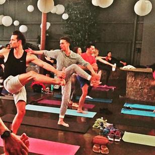 Wondering where the hot guys are in El Paso_ They do yoga every Wednesday night at 6_30 #daretodreamyoga #elpaso #hellohandsome😍 #freeyoga #
