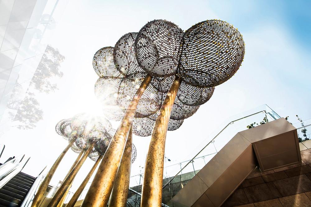 Milan Sipek(米兰 西派克)为宝龙集团设计的大型城市水晶雕塑