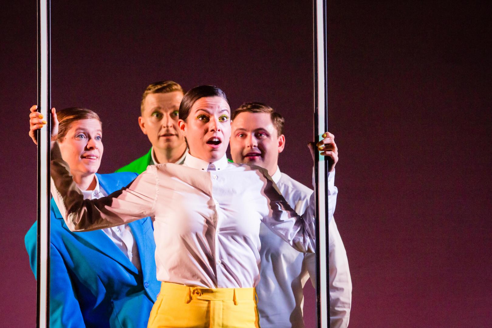 The cast of Opera Highlights. Scottish O
