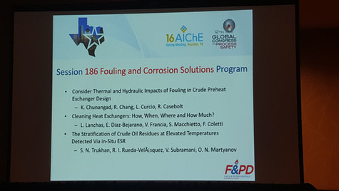 Hexxcell technology presented at AIChE Spring Meeting