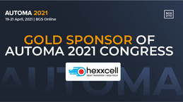 Hexxcell Gold Sponsor at AUTOMA 2021