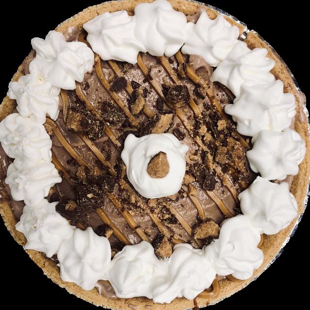 Choc PB Pie