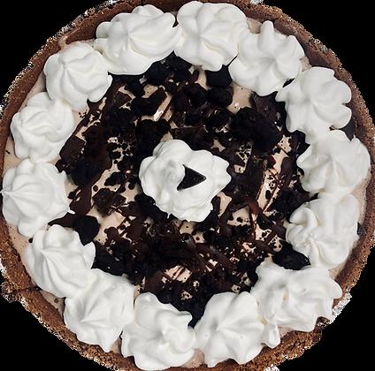 Chocolate Overload Ice Cream Pie