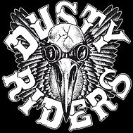 Dusty Riders Logo (b&w).jpeg