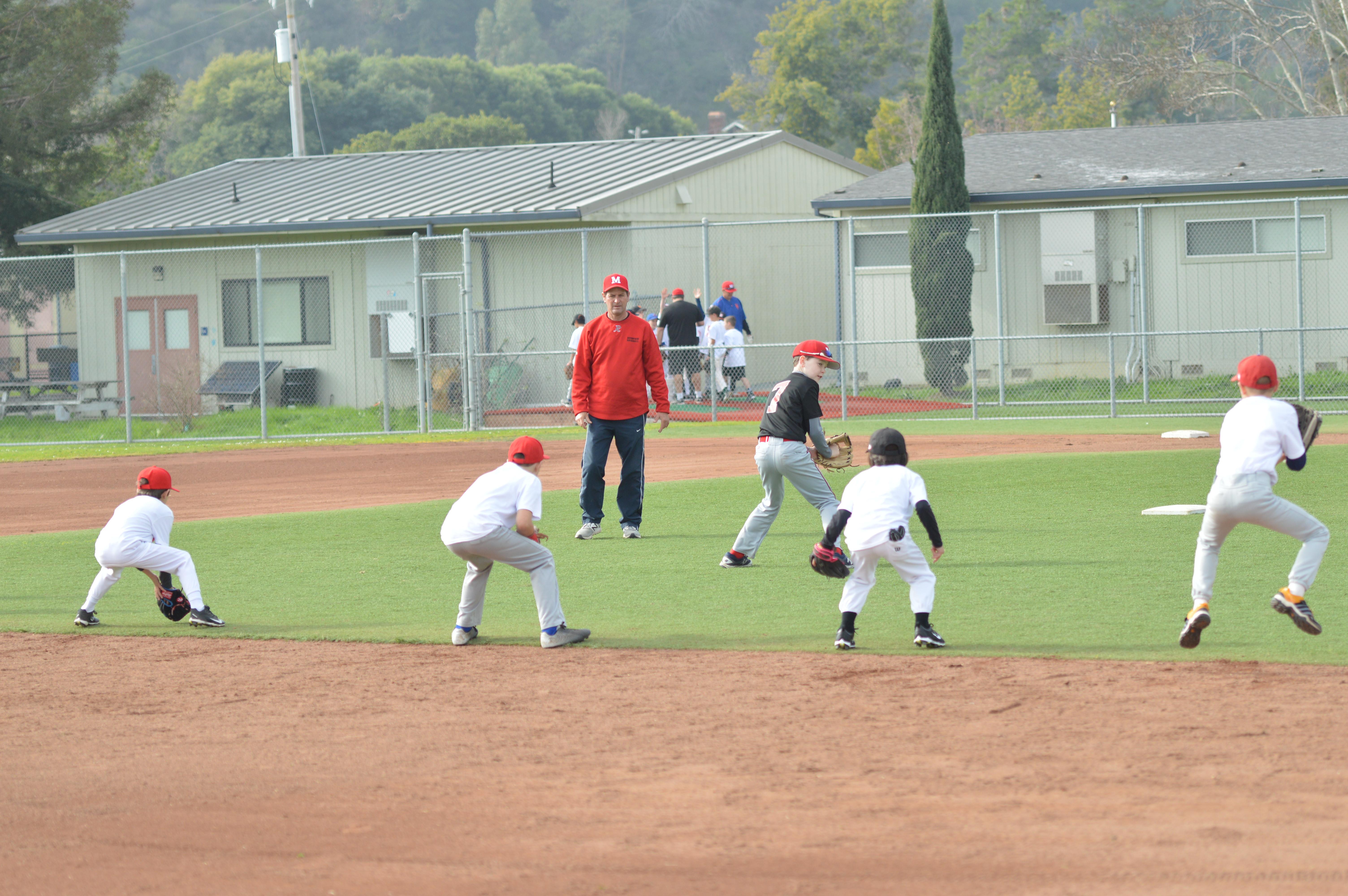 Little League Fielding Clinic