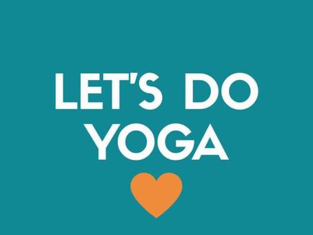 Let's do YOGA!