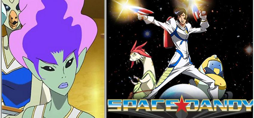 Space Dandy- Anna Voiced by Giovannie Cruz