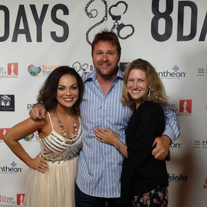 Giovannie and Mentor, Actor, Director and Producer Will Wallace