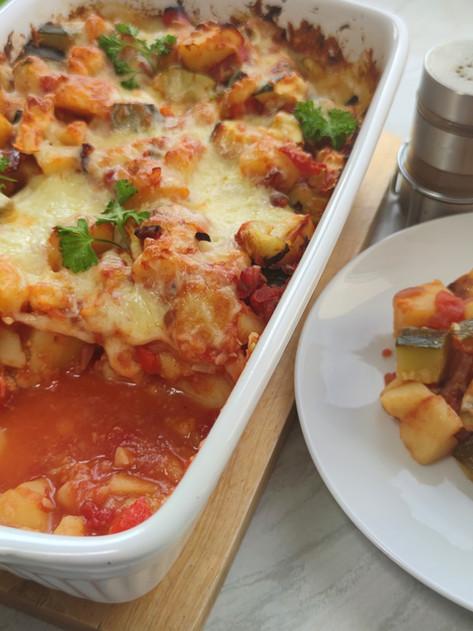 🍅🥔 Zapiekanka z ziemniaków, cukinii i pomidorów 🥔🍅
