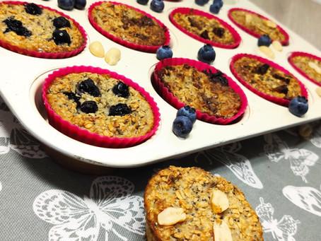 Owsianka Pieczona w formie muffinki