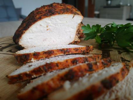 Domowa wędlina - pieczony filet z indyka