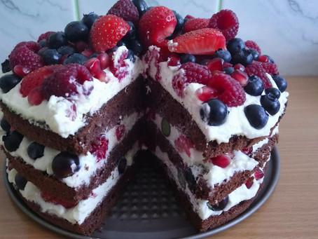 Tort z owocami :)