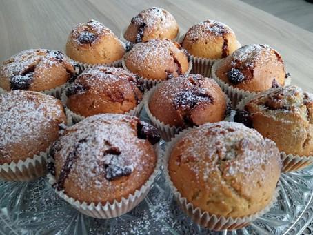Muffiny z kawałkami czekolady - pyszne i proste :)