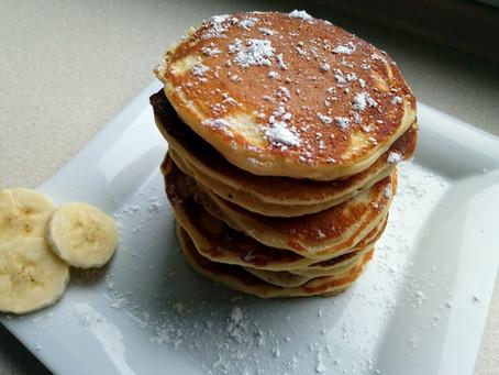 Pancakes - Puszyste bez proszku do pieczenia