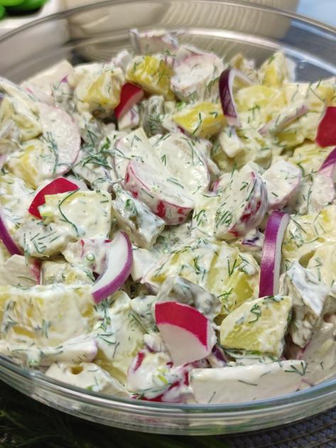 Sałatka ziemniaczana - Idealna do grilla