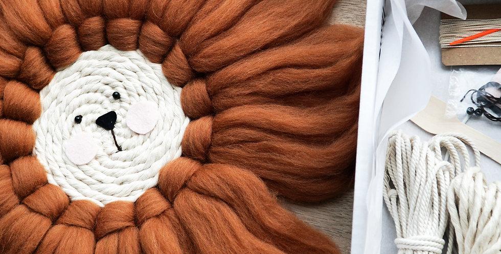 DIY Pakket  - Leeuwtje weven