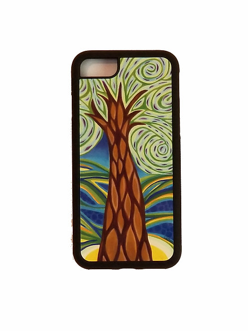 iPhone 7 or iPhone 8 phone case - Green Tree