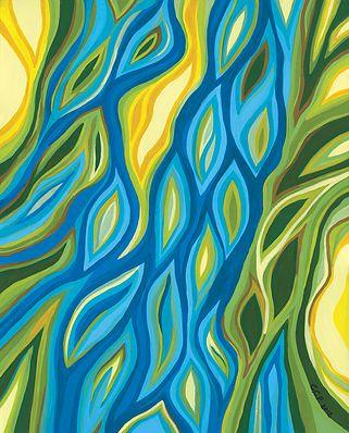 11 x 14 Canvas Print - River Marsh