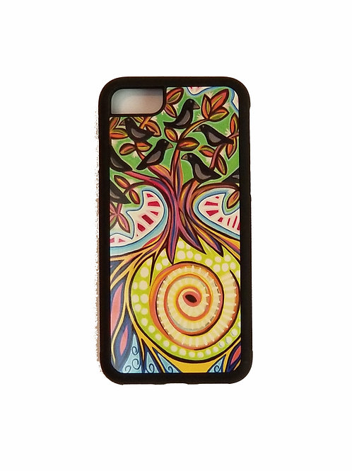 iPhone 7 or iPhone 8 phone case - Blackbirds