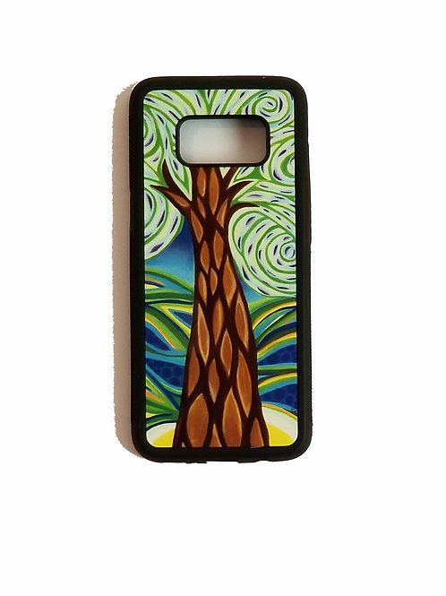 Samsung Galaxy S8 phone case - Green Tree
