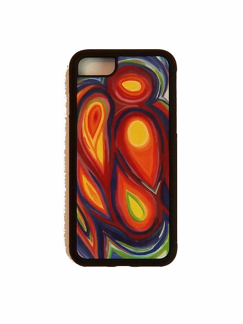 iPhone 7 or iPhone 8 phone case - Guardian Angel