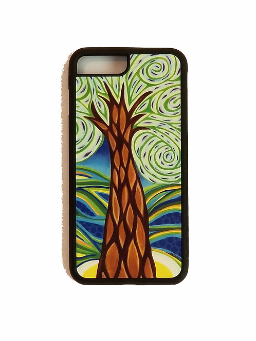 iPhone 7 Plus or iPhone 8 Plus phone case - Green Tree