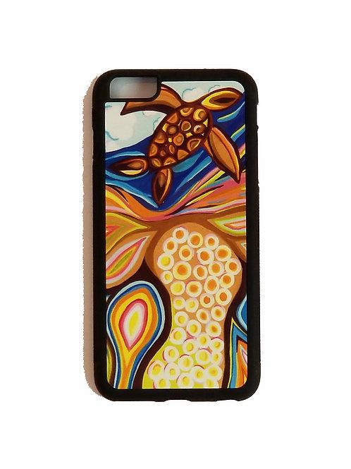 iPhone 6 Plus or iPhone 6S Plus phone case - Turtle Season