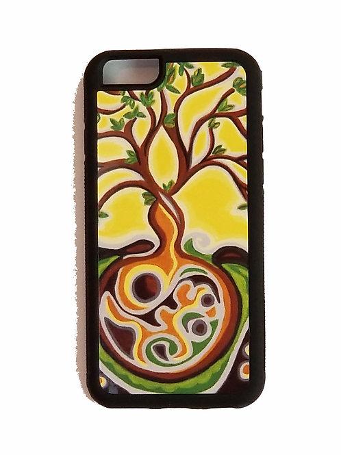 iPhone 6 Plus or iPhone 6S Plus phone case - Yellow Tree